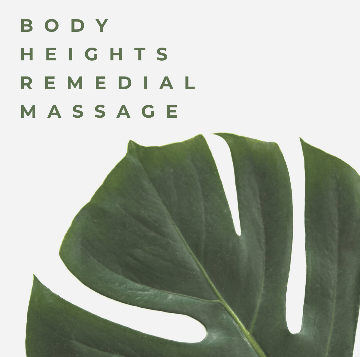 Body Heights Remedial Massage